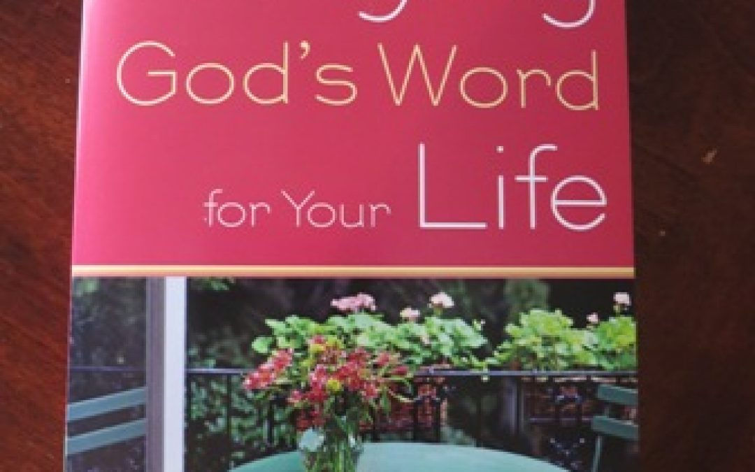 Book Review:  Praying God's Word for Your Life by Kathi Lipp