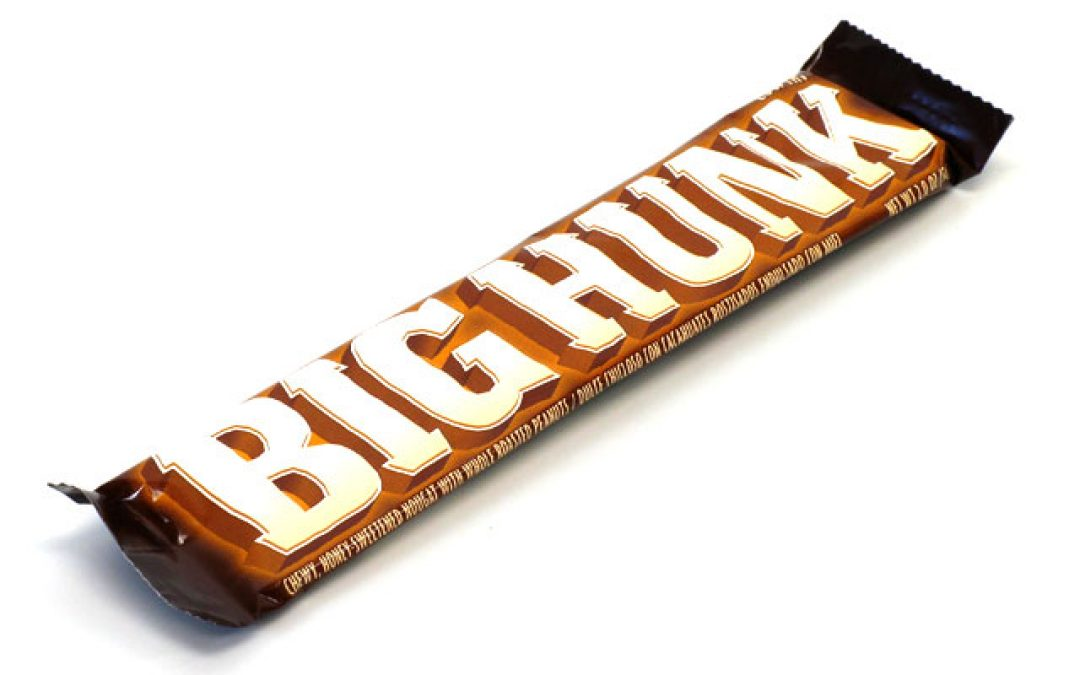 Snickers or Big Hunk?