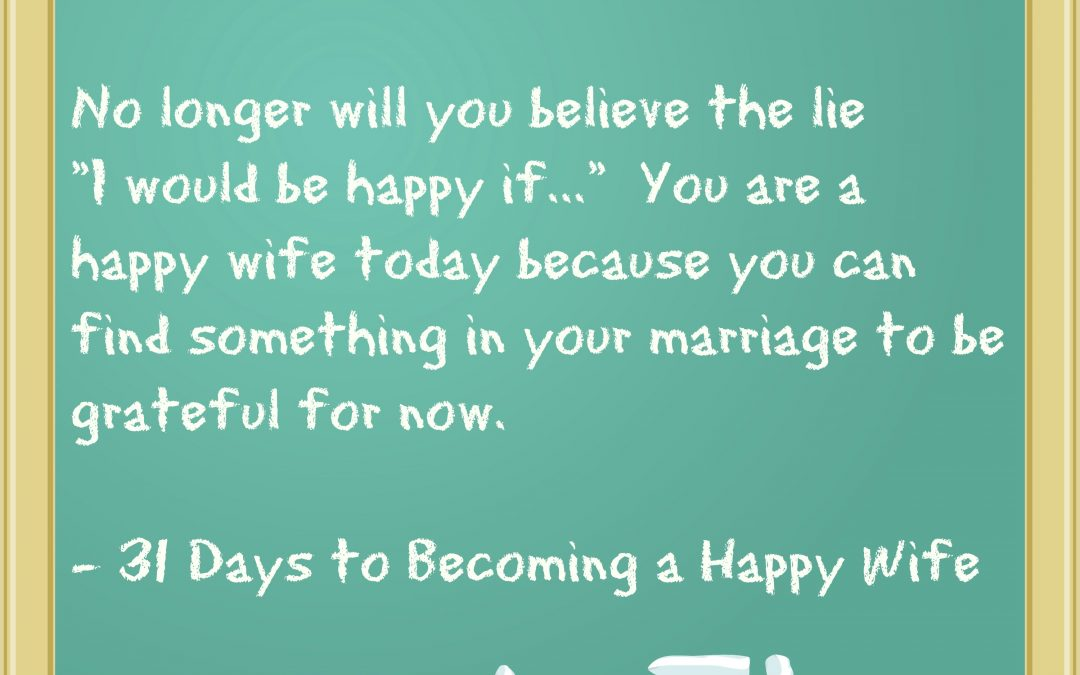 A Week's Worth of Inspiration for Wives