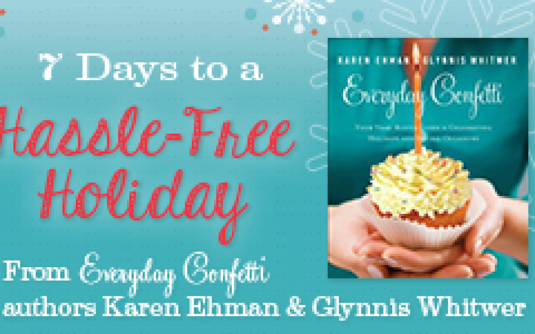 Book Giveaway:  Everyday Confetti by Karen Ehman & Glynnis Whitwer