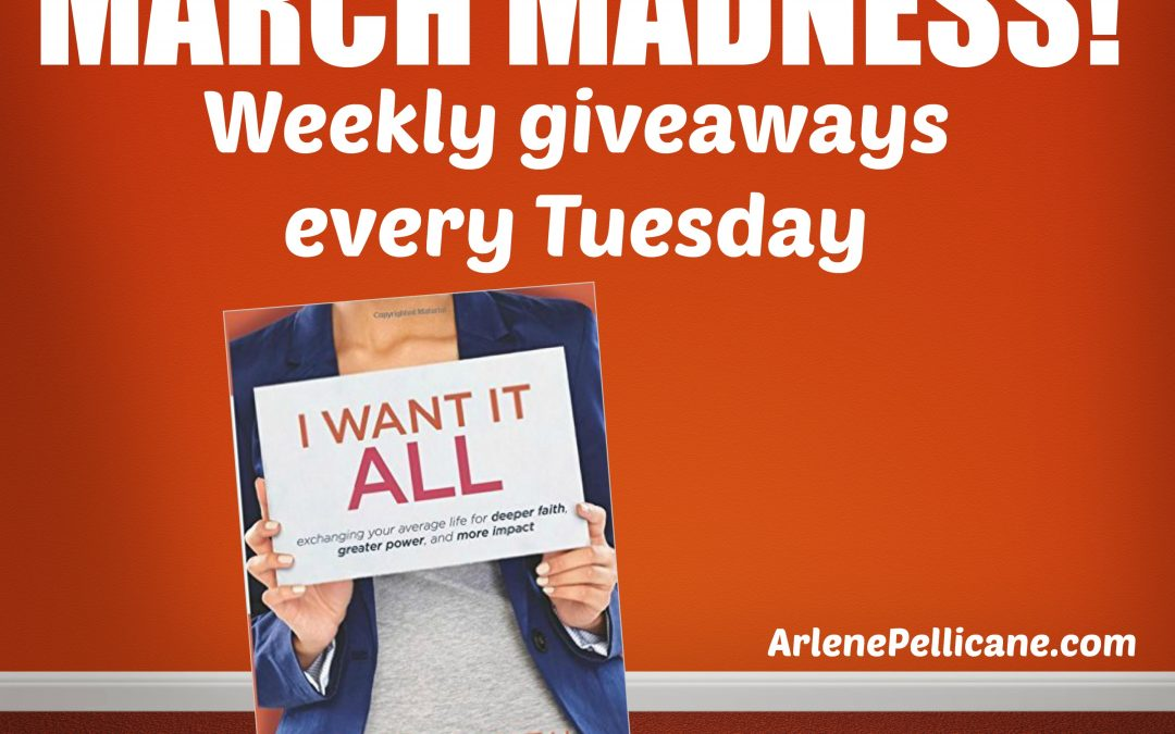 March Madness Book Giveaway: I Want It All